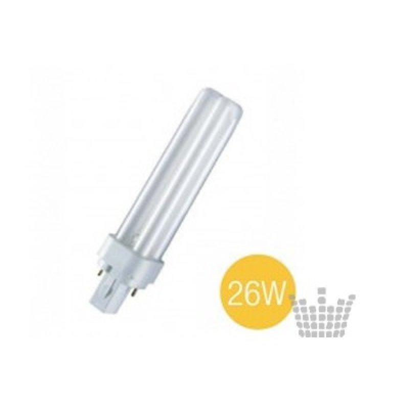 Lampu DULUX D - 26 W...